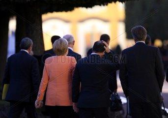 Merkel  Hollande und Cameron am 05.09.2013 beim G20-Gipfel