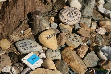 Steine mit Namen - Jakobsweg - Camino de Santiago