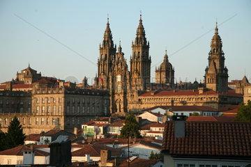 Kathedrale von Santiago de Compostela - Camino de Santiago