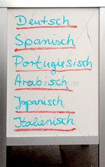 Sprachkurse und Uebersetzungen