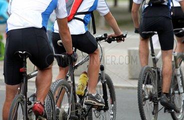Rad-Rennfahrer