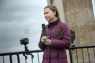 Berlin  Deutschland - FridaysForFuture  Greta Thunberg