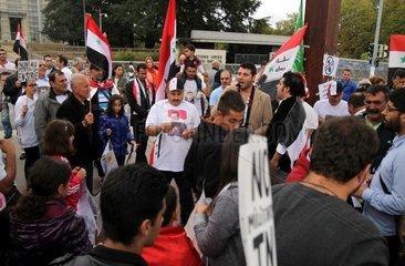 Pro-Assad-Demo am 8.9.2013 in Genf
