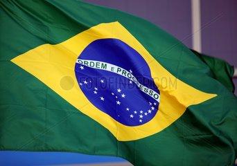 Fahne von Brasilien