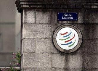 World Trade Organization WTO in Genf