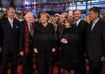 Berlin  Deutschland  Premiere von -Katyn-  ein Film von Andrzej Wajda