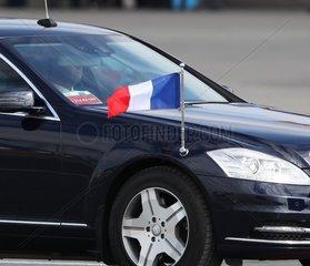 Fahne von Frankreich