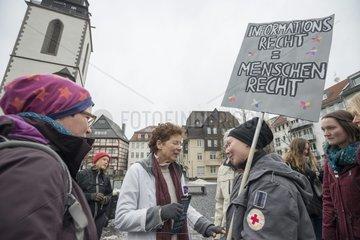 Bundesweite Demonstration gegen Paragraph 219a