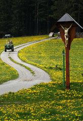 Kruzifix im Schwarzwald