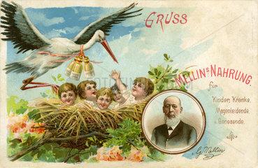 Werbung fuer Kindernahrung  1898