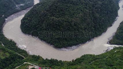CHINA-TIBET- NYINGCHI-BARRIER LAKE (CN)