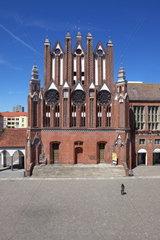 Das historische Rathaus in Frankfurt (Oder)