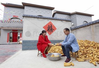 CHINA-HEBEI-XIA'AN VILLAGE-POVERTY RELIEF (CN)
