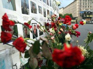 Gedenken an die Opfer der Unruhen in Kiew