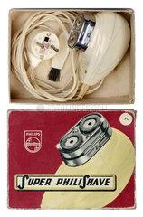 Philips Elektrorasierer in Originalschachtel  1962