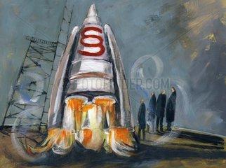 Raketenstart - Serie Paragraphen