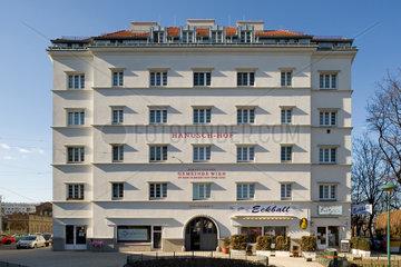 Wien  Oesterreich  der Hanusch-Hof im 3. Wiener Gemeindebezirk Landstrasse