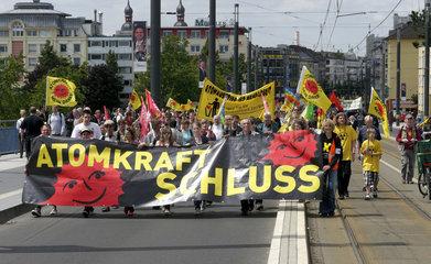 Anti-AKW-Demo in Bonn