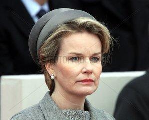 Koenigin Mathilde von Belgien