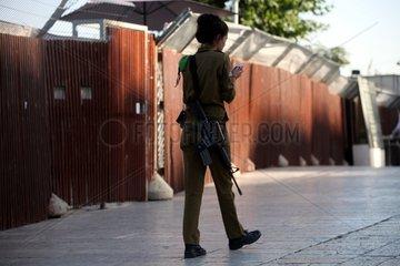 Israelische Soldatin
