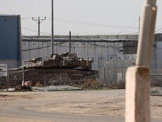 Grenze zum Gazastreifen