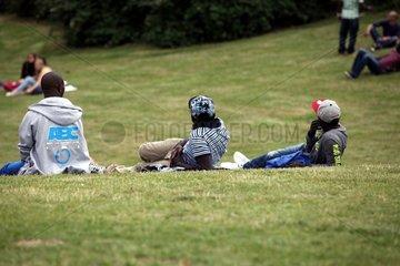Menschen im Goerlitzer Park