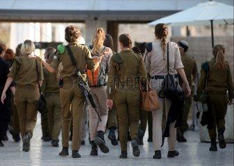 Israelische Soldatinnen
