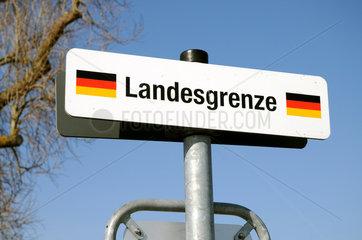 Deutsche Landesgrenze bei Konstanz