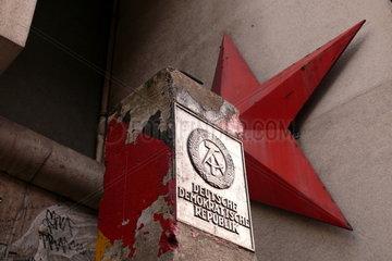 alter Grenzstein der DDR
