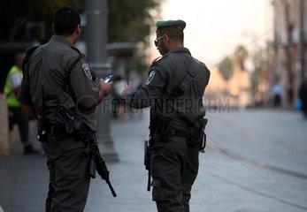 Israelische Sicherheitskraefte