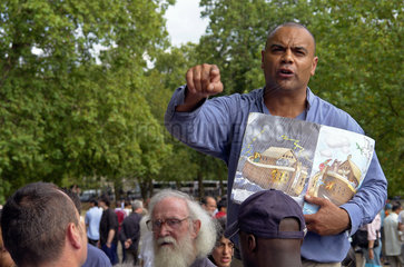 London: Christlicher Eiferer an Speakers' Corner
