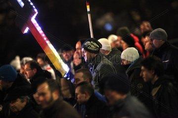 Legida-Demo am 21.01.2015 in Leipzig