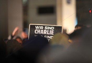 Wir sind Charlie -Schild