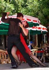 Argentinien: Tangotaenzer in La Boca  Argentinien