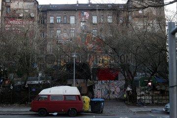 Besetztes Haus Koepi in Kreuzberg