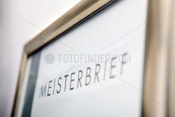 Kfz-Werkstatt: Meisterbrief