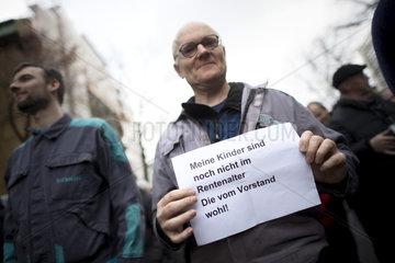 Siemens Workers Protest