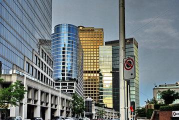 Hochhaeuser in der Innenstadt von Vancouver
