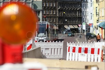 Umbau der Steintor-Kreuzung in Halle (Saale)