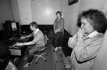fight for independence 1991 / restarting radio broadcasting  Riga  Latvia