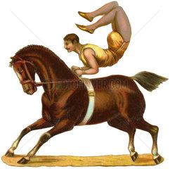 Zirkusartist  Kunstreiter  1895