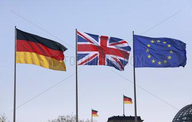 Bundeskanzleramt Treffen Merkel May