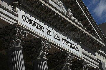 Unterhaus des spanischen Parlaments