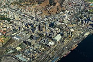 Luftaufnahme Kapstadt City