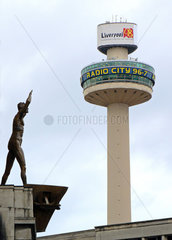 Liverpool: Funkturm mit Sender Radio City