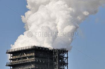 Nachloeschturm der Kokerei ThyssenKrupp Schwelgern