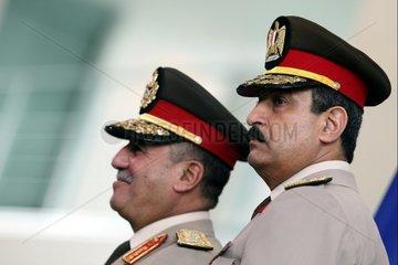Aegyptische Generaele Sabry Elsayed und Mohammed Hassan
