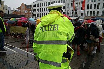 Polizei im Karneval