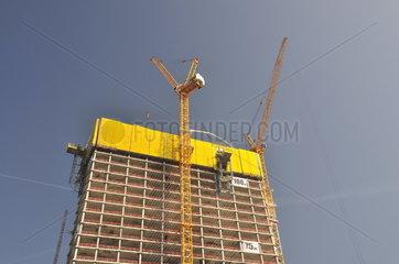 Baustelle  Neubau der Europaeischen Zentralbank  EZB