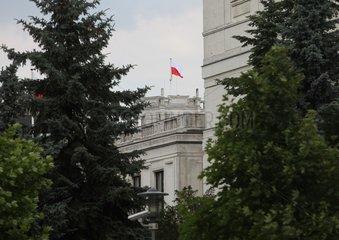 Polnisches Parlament in Warschau